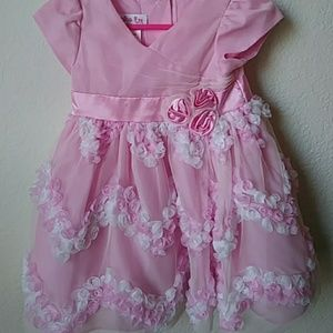 Lot of 2 size 12 month jessica ann dresses
